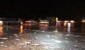 بالفيديو.. جريان السيول في عفيف إثر هطول الأمطار