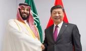 سمو ولي العهد يلتقي الرئيس الصيني على هامش قمة العشرين