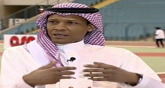 """"""" الدعيع """" ينتقد لاعبي الهلال بعد خسارتهم أمام الحزم"""