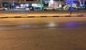 اندلاع حريق في محطة وقود بمحافظة تيماء