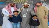 الأمير محمد بن فيصل يلتقي أسرة المشجع الراحل محيي الدين باز