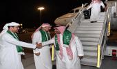 بالصور.. بعثة الأخضر تصل دبي