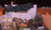 إتلاف 200 كيلو جرام من اللحوم في شقتين سكنيتين تديرهما عمالة مخالفة بالخبر