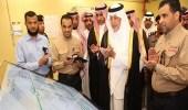 بالصور.. أمير مكة يطلق التيار الكهربائي لمخططات ولي العهد