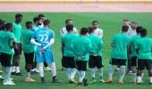 بالصور.. الأخضر تحت 21 يستأنف تدريباته بعد الفوز على العراق