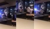 بالفيديو.. صاحب مطعم سوري في لندن يطرد فهد بن حمد بن جاسم ومرافقيه