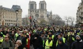 """إجراءات أمنية مشددة مع عودة """" السترات الصفراء """" إلى باريس"""