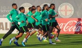 بالصور.. الأخضر يواصل تدريباته في أبوظبي استعدادا لكأس آسيا 2019