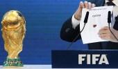 """"""" الفيفا """" تدرس إمكانية مشاركة دول خليجية في استضافة مونديال قطر"""