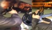 بالفيديو.. شخص يطلق النار عبثًا جوار مبنى البلدية برفحاء