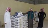 بالصور.. إغلاق مصنعًا مخالفًا في الدلم