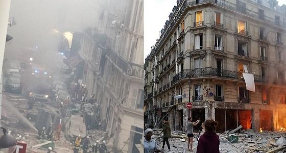 بالصور.. انفجار قوي يهز باريس