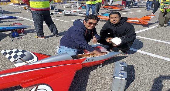 الأخضر يشارك بطولة الطائرات اللاسلكية الثالثة بالكويت