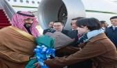 بالصور.. سمو ولي العهد يصل إلى الصين في زيارة رسمية