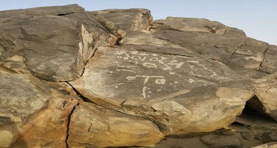بالصور.. اكتشاف وادي لعيون كبريتية وآثار ألفية في وادي مركوب بالليث