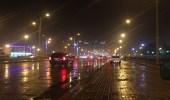 أمطار على محافظة طريف