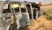 بالصور.. نجاة أسرة محافظ القنفذة بالنيابة بأعجوبة من حريق السيارة