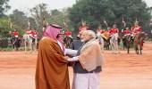 بالفيديو.. لحظة ترحيب رئيس وزراء الهند بولي العهد باللغة العربية