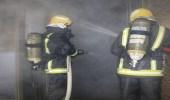 بالصور.. مدني العاصمة المقدسة يسيطر على حريق بمشروع جبل عمر
