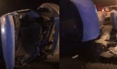 بالفيديو.. حادث انقلاب مركبة في الليث يسفر عن إصابة معلمتين