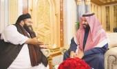 """بالفيديو.. رئيس """" علماء باكستان """" : دفاع المملكة وباكستان واحد وكلنا جنود لخادم الحرمين"""