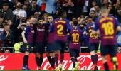 بالصور.. برشلونة يصعق الريال بثلاثية ويصعد لنهائي كأس الملك