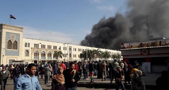 بالفيديو.. لحظة انفجار القطار في محطة مصر