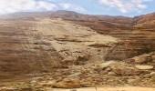 كتلة صخرية تنهار بالعلا نتيجة صاعقة رعدية