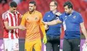 إصابة محمد عواد بتمزق في عضلة السمانة