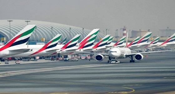 تأجيل الرحلات بمطار دبي الدولي بسبب طائرات مسيرة غير مصرح بها