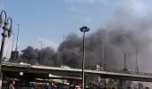 بالصور.. 20 قتيلا وعشرات المصابين إثر حريق ضخم بمحطة قطارات مصر