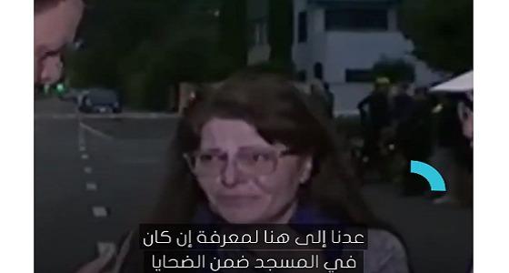 بالفيديو.. أم عراقية تبحث عن ابنها بين ضحايا مذبحة نيوزيلندا