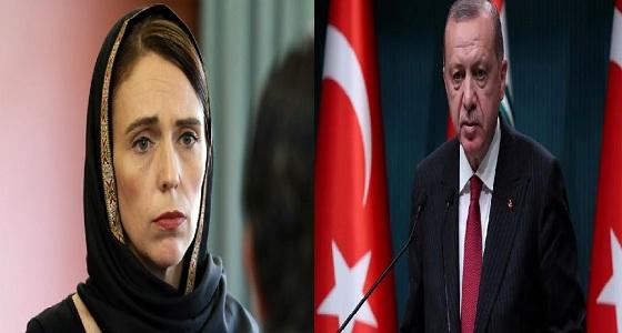 عقب تصريحاته الاستفزازية.. رئيسة وزراء نيوزيلندا ترد على أردوغان في بلاده