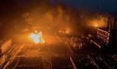 بالفيديو.. ارتفاع ضحايا انفجار مصنع مبيدات بالصين إلى 62 قتيلا