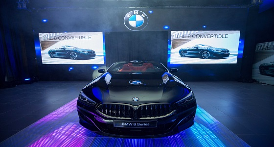 """بالصور.. """" BMW """" تطلق الفئة الثامنة المكشوفة في المملكة"""