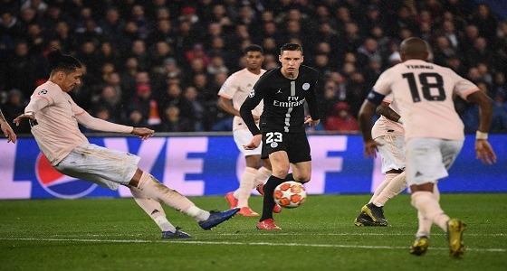 مانشستر يونايتد يطيح بباريس سان جيرمان من دوري أبطال أوروبا