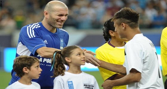زيدان يرفض تعاقد ريال مدريد مع نيمار