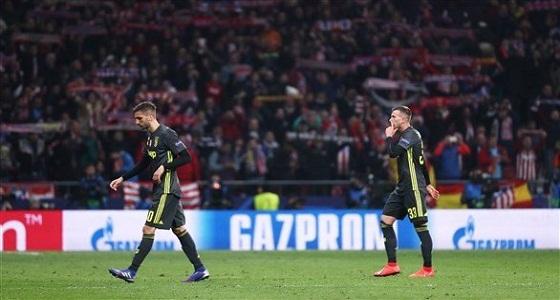 """"""" التاريخ """" عائق أمام يوفنتوس في لقاء أتلتيكو مدريد"""