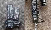 بالصور.. منفذ هجوم نيوزيلندا يترك رسالة على سلاحه