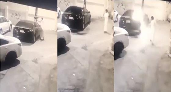 شرطة مكة تطيح بحارق سيارة مواطنة بالطائف
