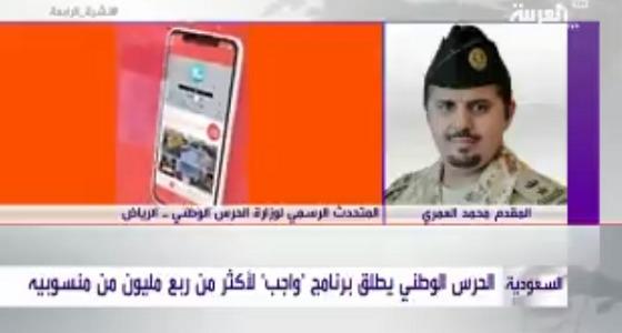 بالفيديو الحرس الوطني واجب به مزايا لنحو ربع مليون عسكري صحيفة صدى الالكترونية