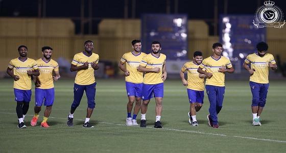 بالصور.. النصر يبدأ استعدادته لمباراته أمام الاتحاد