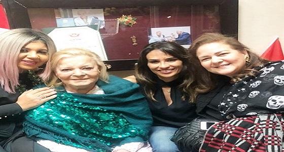 بالصور..نادية لطفي تنفي شائعة وفاتها وحالتها الصحية مستقرة