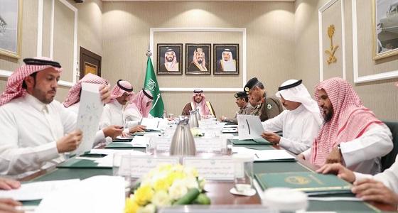 أمير منطقة الحدود الشمالية يرأس اجتماع الإدارات الحكومية الثاني للاستعداد لشهر رمضان المبارك