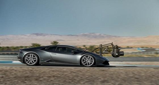 """بالصور.. """" لامبورغيني هوراكان """" أسرع سيارة كاميرا في العالم"""