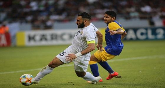 """"""" يحيي الشهري """" أفضل لاعب في مباراة الزوراء والنصر"""