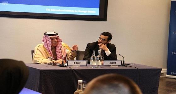 عادل الجبير يستعرض جهود المملكة لخدمة الأمن والسلم الدوليين
