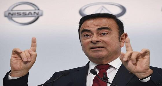 """4.5 مليون دولار كفالة للإفراج عن رئيس """" نيسان """" السابق"""