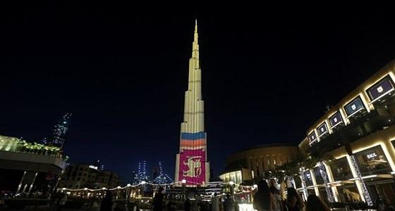 شاهد.. الإمارات تضيء برج خليفة بألوان علم سريلانكا