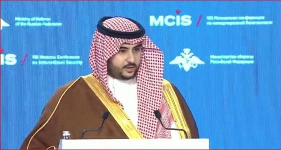 الأمير خالد بن سلمان: تكاتف جهود الدول الشقيقة من أولويات المملكة لمحاربة الإرهاب